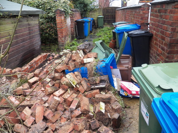 Landlords insurance -Storm Doris hits Cheadle SK8