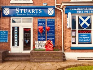 Your Property Loved Properly - Stuarts Property Valentines display Feb 2018